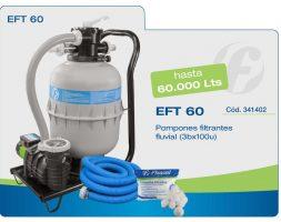Filtro Portatil completo EFT 60 Fluvial