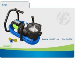 Filtro Portatil completo EFS Fluvial para pileta