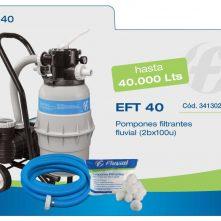 Filtro Portatil completo EFT 40 Fluvial