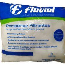 Pompones Filtrantes Fluvial x100u