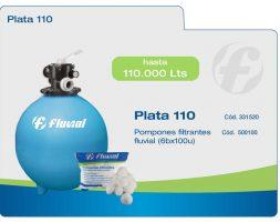 Filtro Fluvial Plata 110 – hasta 110 mil litros