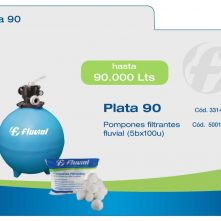 Filtro Fluvial Plata 90 – hasta 90 mil litros