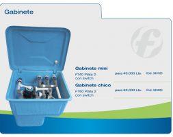 Gabinete Mini completo para 40000 Lts – Fluvial